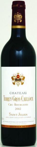 BordeauxChateau Terrey - Gros - Caillou Cru Bourgeois Jg. 2002Frankreich Bordeaux