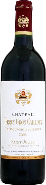 BordeauxChateau Terrey - Gros - Caillou Cru Bourgeois Jg. 2003Frankreich Bordeaux