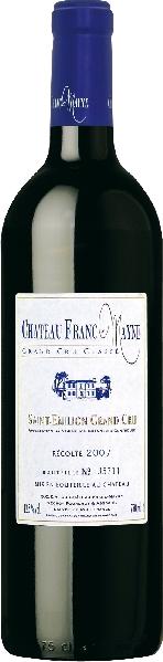 Cht. Franc MayneChateau Franc Mayne Grand Cru Classe Jg. 2007Frankreich Bordeaux Cht. Franc Mayne