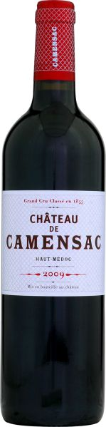 Cht. CamensacChateau Camensac 5ieme Grand Cru Classe Jg. 2009Frankreich Bordeaux Medoc Cht. Camensac