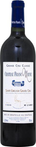 Cht. Franc MayneChateau Franc - Mayne Grand Cru Classe St. Emilion Jg. 1999Frankreich Bordeaux Cht. Franc Mayne