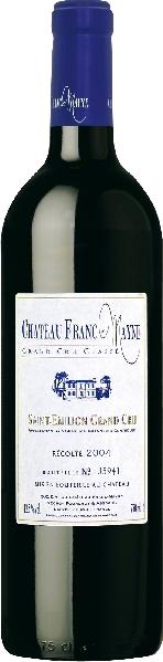 Cht. Franc MayneChateau Franc Mayne Grand Cru Classe Jg. 2004Frankreich Bordeaux Cht. Franc Mayne
