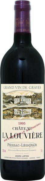 Cht. La LouviereChateau La Louviere Graves AC Pessac Leognan Jg. 1995Frankreich Bordeaux Graves Cht. La Louviere