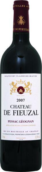 Cht. de FieuzalChateau de Fieuzal Grand Cru Classe de Graves Jg. 2007Frankreich Bordeaux Graves Cht. de Fieuzal