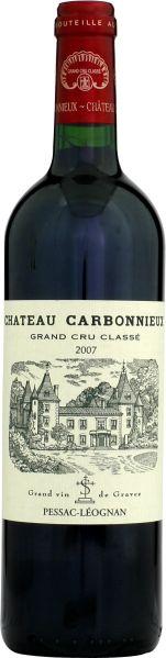 Cht. CarbonnieuxChateau Carbonnieux Cru Classe de Graves Jg. 2007Frankreich Bordeaux Graves Cht. Carbonnieux