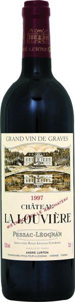 Cht. La LouviereChateau La Louviere Graves AC Pessac Leognan Jg. 1997Frankreich Bordeaux Graves Cht. La Louviere