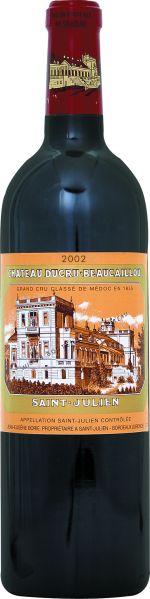 Ducru-BeaucaillouChateau Ducru Beaucaillou 2ieme Grand Cru Classe Jg. 2002Frankreich Bordeaux Medoc Ducru-Beaucaillou