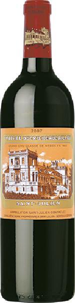 Ducru-BeaucaillouChateau Ducru Beaucaillou 2ieme Grand Cru Classe Jg. 2007Frankreich Bordeaux Medoc Ducru-Beaucaillou