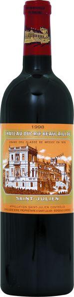 Ducru-BeaucaillouChateau Ducru Beaucaillou 2ieme Grand Cru Classe Jg. 1998Frankreich Bordeaux Medoc Ducru-Beaucaillou