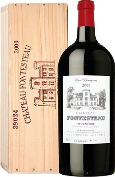 FontesteauChateau  Jg. 2000 5,0 l Millenniumflasche in EinzelholzkisteFrankreich Bordeaux Medoc Fontesteau
