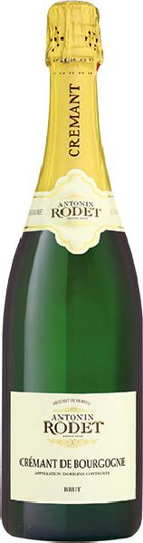 Antonin RodetCremant de Bourgogne AOC brut Cuvee aus Pinot Noir, Chardonnay, Gamay, AligoteFrankreich Burgund Antonin Rodet