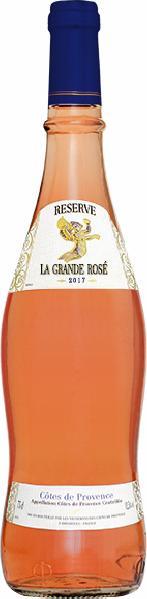 Domaine MonplezyReserve La Grande Blanche Cotes de Provence AC Jg. 2016-17 in Original Provencal - FlascheFrankreich Provence Domaine Monplezy