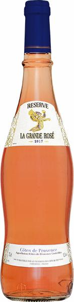 Domaine MonplezyDomaine La Grande Blanche Cotes de Provence AC in Original Provencal - Flasche Jg. 2014-16Frankreich Provence Domaine Monplezy