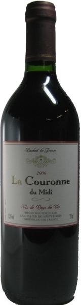 Le Cellier de Saint LuisLa Couronne du Midi Rouge Vin de Pays du Var IGP Jg. 2011Frankreich Provence Le Cellier de Saint Luis