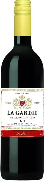 Domaine La GardieLa Gardie Vin de pays du Gard Jg. 2015 Cuvee aus Carrignan, Grenache, Cinsault, Merlot, CabernetFrankreich Südfrankreich Languedoc Domaine La Gardie