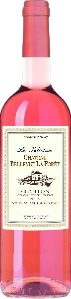 Cht. Bellevue La ForetLa Selection Rose Fronton AOP Jg. 2015Frankreich Rhone Cht. Bellevue La Foret