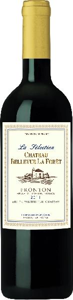 Cht. Bellevue La ForetLa Selection Rouge Fronton AOP Jg. 2011-12Frankreich Rhone Cht. Bellevue La Foret