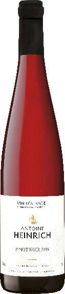 Antoine HeinrichElsässer Pinot Noir AC  Jg. 2015Frankreich Elsass Antoine Heinrich