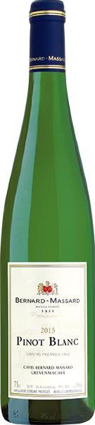 Domaine Bernard Massard Pinot Blanc Grand 1er Cru Moselle Luxembourgeoise AC Jg. 2014Luxemburg