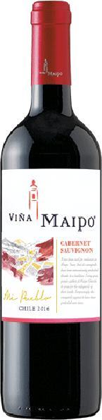 Vina MaipoCabernet Sauvignon Jg. 2014Chile Valle del Maipo Vina Maipo