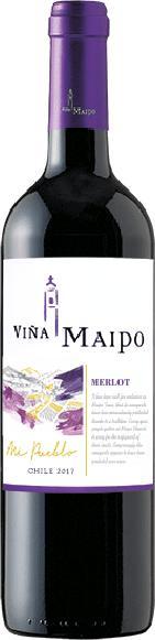 Vina MaipoMi Pueblo Merlot Jg. 2015-17Chile Valle del Maipo Vina Maipo
