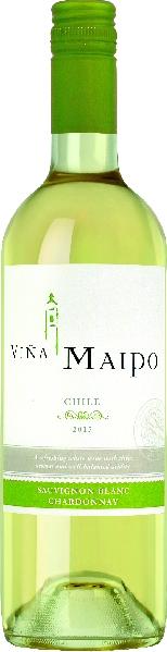 R650064816 Vina Maipo Silver Sauvignon Blanc Chardonnay B Ware Jg.2015