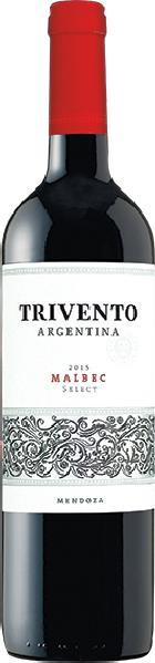TriventoMalbec Select Jg. 2015Argentinien Mendoza Trivento