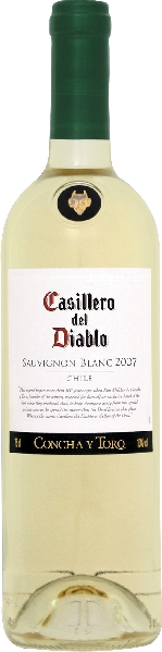 Concha y ToroCastillero del Diablo Sauvignon Blanc Jg. 2011Chile Ch. Sonstige Concha y Toro