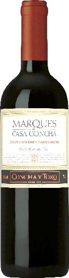 Concha y ToroMarques de Casa Concha Cabernet Sauvignon 18 Monate im Barrique gereift Jg. 2012-13Chile Ch. Sonstige Concha y Toro