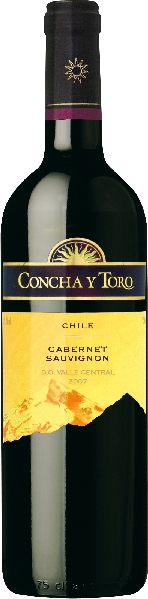 Concha y ToroCabernet Sauvignon Jg. 2013Chile Ch. Sonstige Concha y Toro