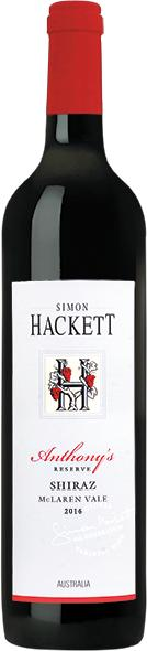 Simon Hackett, Anthonys Reserve Shiraz Jg. 2009
