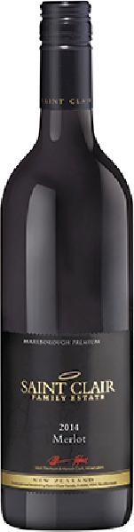 Saint ClairMerlot Jg. 2012-14Neuseeland Marlborough Saint Clair