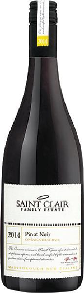 Saint ClairOmaka Reserve Pinot Noir Jg. 2014Neuseeland Marlborough Saint Clair