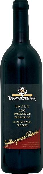 WasenweilerKreuzhalde Sp�tburgunder QbA trocken Jg. 2012-14Deutschland Baden Wasenweiler