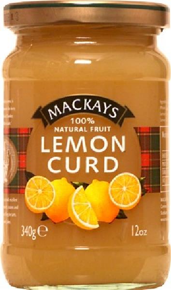 MarmeladeMackays Lemon Curd 340gDelikatessen Marmelade