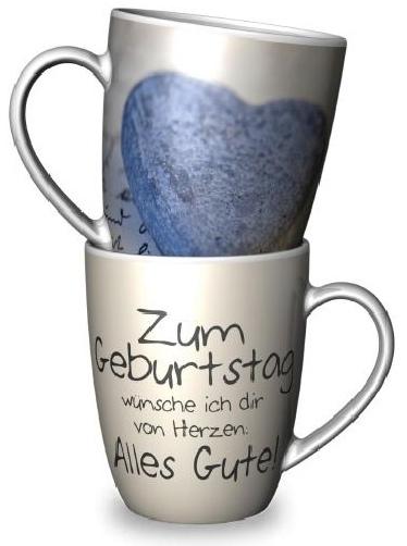 Mehr lesen zu : Becher und SchalenEin Becher für Dich:  Zum Geburtstag wünsch ich dir ...Delikatessen Accessoires Becher und Schalen